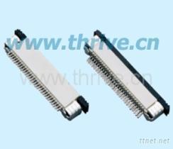 0.5mm间距FFC/FPC贴片连接器