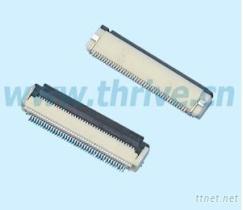 0.5mm间距FFC/FPC翻盖连接器