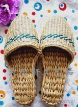 蒲草草鞋, 家居草鞋, 手工草鞋
