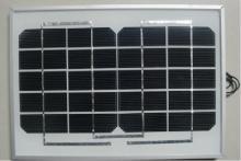 10w單晶硅太陽能電池板