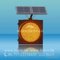 太陽能指示燈、黃閃燈