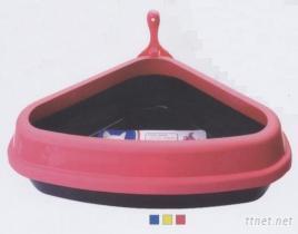 三角貓砂盆