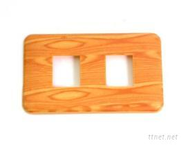 木纹开关盖