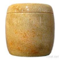 芙蓉紅骨灰罐(骨灰缸)