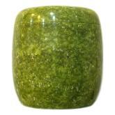 綠岫玉骨灰罐(骨灰缸)