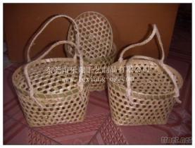 竹編提籃, 竹編工藝品, 食品包裝盒