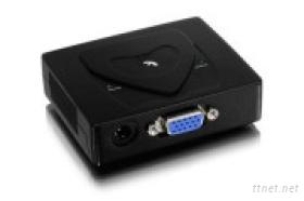 2port的VGA視頻分配器