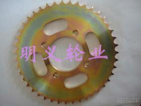 摩托車鏈輪(彩鋅)