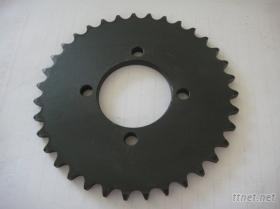賽馳110摩托車鏈輪(磷化黑,黑鎢光)