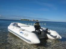 橡皮艇, 鋁合金板底沖鋒舟