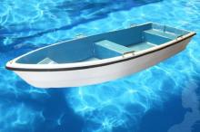 手劃船, 玻璃鋼船, 打撈船