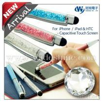 水晶钻电容式触控原子笔