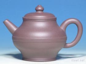 仿清紫砂- 神帶葫蘆壺