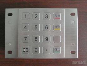 金属密码键盘