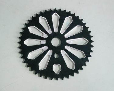 自行车齿盘加工