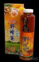 調和野蜂蜜圓瓶無蠟禮盒(買6送1)