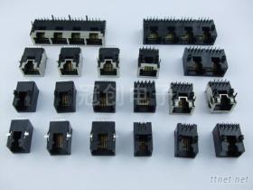 RJ45母座, 水晶頭插座, 網絡連接器