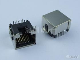 插板式RJ45插座, 水晶頭母座