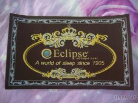 床墊刺繡商標