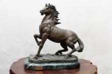 小立馬脫臘銅雕藝品