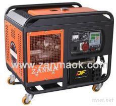 10kVA雙缸風冷三相柴油發電機組