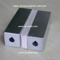 大方塊磁鐵, 高性能磁鐵, 儀器設備磁鐵