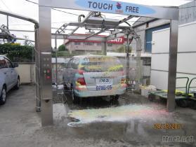 前置作業水刀洗車機