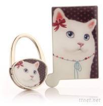 不鏽鋼鏡+包包掛鉤套裝