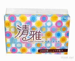 清雅衛生紙-抽取式衛生紙