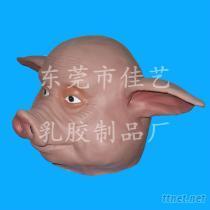 動物頭面具