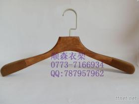木衣架, 男裝木衣架