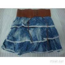 牛仔裙, 百褶裙, 呢短裙