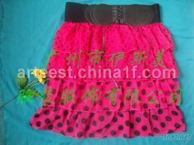 魚尾裙, 豹紋短裙, 百褶裙, 呢短裙, 蕾絲短裙