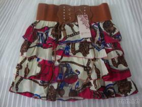 荷葉邊裙, 百褶裙, 燈籠裙