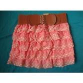 百褶裙, 呢短裙, 蕾絲短裙