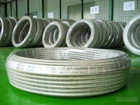 PTFE鐵氟龍不鏽鋼絲編織管