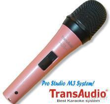 TransAudio 卡拉ok麦克风M3