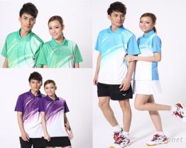 2014新款男女款羽毛球服套裝短袖T恤