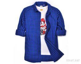 男女款長袖工作襯衫