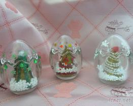 聖誕樹系列, 玻璃蛋