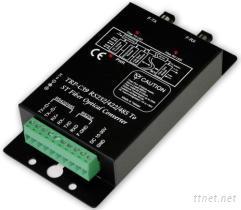 光纤 转 RS-232/422/485 光隔离转换器,ST接头 2公里