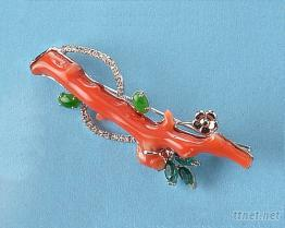 珊瑚飾品電鍍