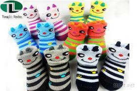【3801】3D立體小蜜蜂 鞋襪