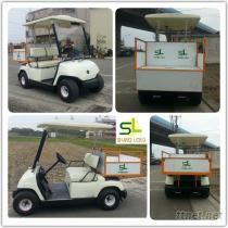 YAMAHA两人座电动车, 高尔夫球车, 代步车