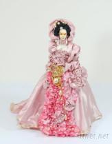 中國華麗人偶婚紗仕女