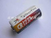 雷射描準器專用電池, CR123A 3.0V 鋰電池