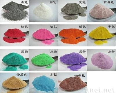 砂畫用色砂