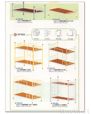 鋼製單層鐵床  鋼製雙層鐵床