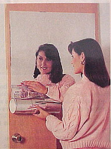 背膠鏡面貼紙