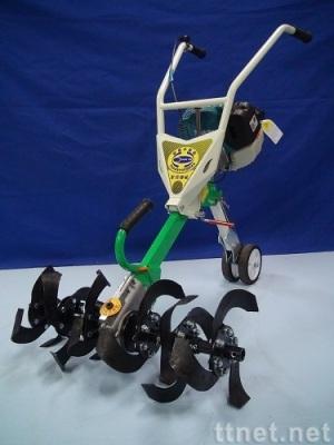 小型摺疊中耕機